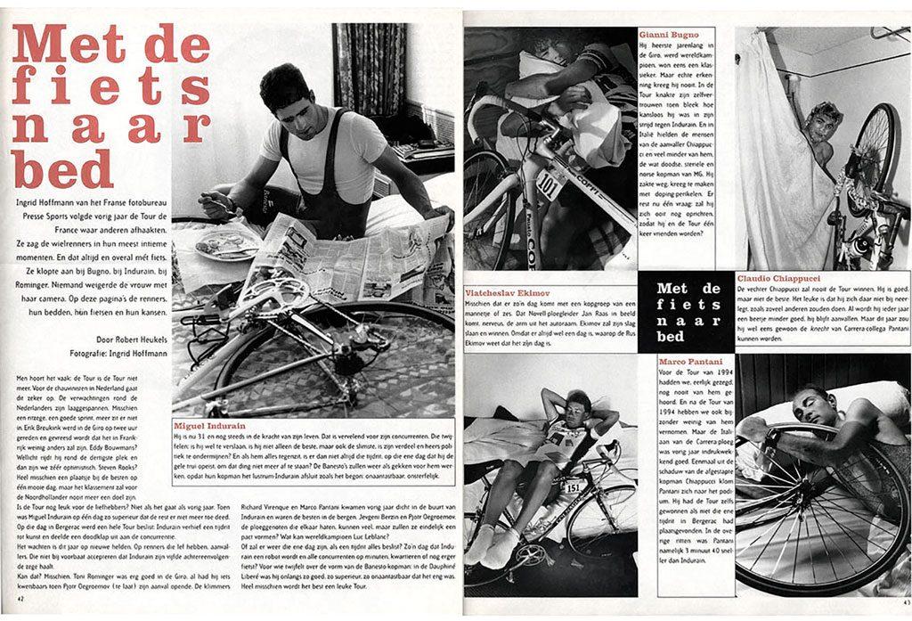 Vélo Intime 1995 - Parution NeweRevue