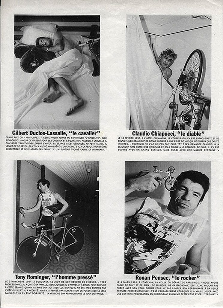 Parution Vélo Intime VSD 1995