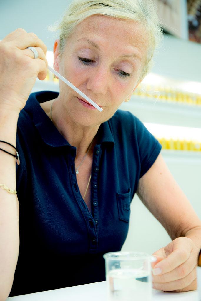 Francoise Grospierre, créatrice de parfums