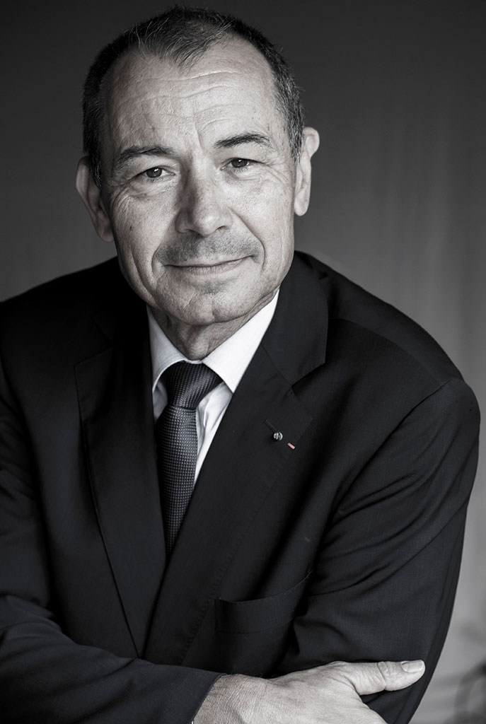 Portrait Jean-Claude Girot par Ingrid Hoffmann