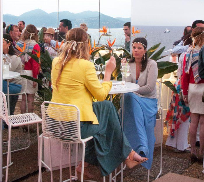 Cannes 2016 garden party Mouton Cadet terrasse du palais des festivals - Cannes 2016